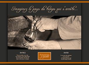 Production et chai d'armagnacs Visiter le site
