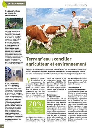 Magazine périodique de la Communauté de Communes